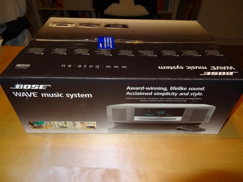 bose wave music system ii graphite schwarz neu unge ffnet ovp 2 j garantie ebay. Black Bedroom Furniture Sets. Home Design Ideas