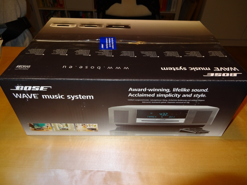 bose wave music system ii graphite schwarz neu. Black Bedroom Furniture Sets. Home Design Ideas